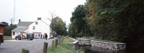 Lock 19 and Locktender's House, Lodi