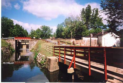 Lock 22 and 23.  Also, Powerhouse